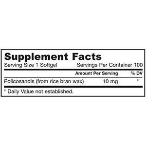 Jarrow Formulas, Ультра полисоканолы, быстроусвояемый комплекс, 10 мг
