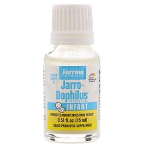 Jarrow Formulas, Пробиотики Jarro-Dophilus, жидкие капли, для младенцев