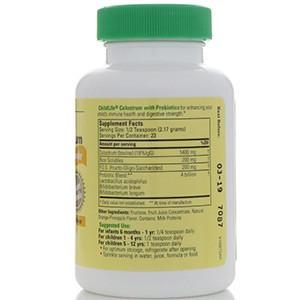 ChildLife, Пробиотики с порошковым молозивом, с натуральным вкусом апельсина / ананаса