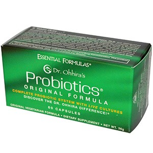 Dr. Ohhira's, Essential Formulas Inc., Пробиотики, натуральная формула
