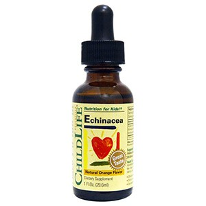 ChildLife, Essentials, эхинацея, с натуральным вкусом апельсина