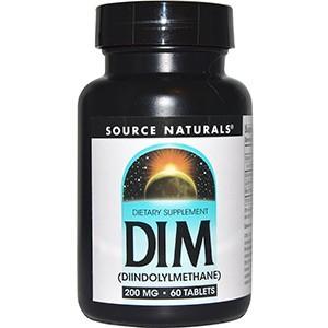 Source Naturals, DIM (Дииндолилметан)