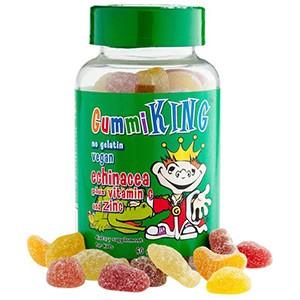 Gummi King, Эхинацея с витамином С и цинком, Для детей