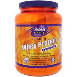 Now Foods, Для спорта, сывороточный протеин высшего качества, натуральная ваниль