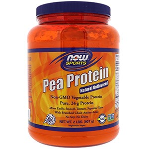 Now Foods, Протеин гороха, без запаха