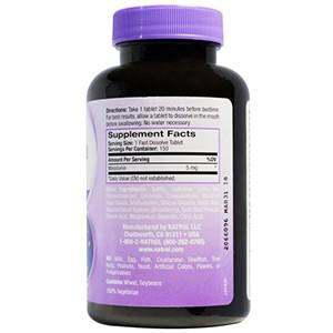 Natrol, Мелатонин, быстрорастворимый, клубника