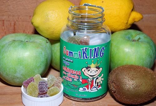 витамины gummi king