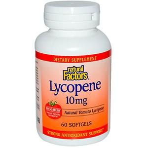 Natural Factors, Ликопин, 10 мг