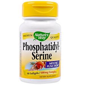 Nature's Way, Фосфатидилсерин, комплекс 500 мг
