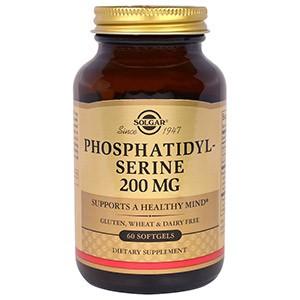 Solgar, Фосфатидилсерин, 200 мг