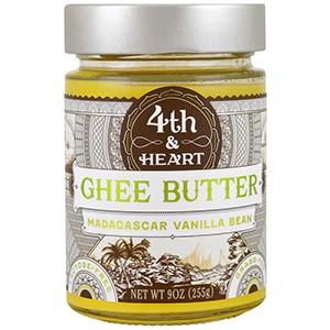 4th & Heart, Топленое масло, получено из молока коров, питавшихся только травой, с натуральной мадагаскарской ванилью