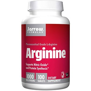 Jarrow Formulas, Аргинин, 1000 мг