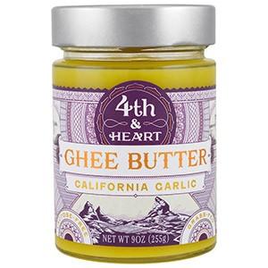 4th & Heart, Масло буйволицы, калифорнийский чеснок