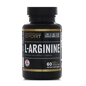 California Gold Nutrition, L-аргинин, AjiPure, 500 мг