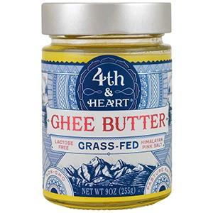 4th & Heart, Масло буйволицы, травяного откорма, гималайская розовая соль