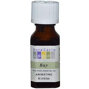 Aura Cacia, 100% эфирное масло лавра (бей)