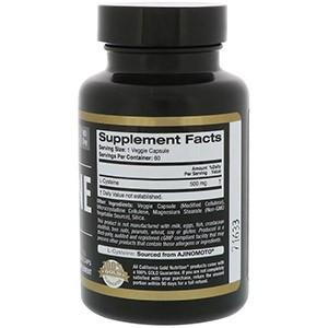 California Gold Nutrition, L-цистеин, AjiPure