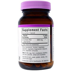 Bluebonnet Nutrition, L-цистеин