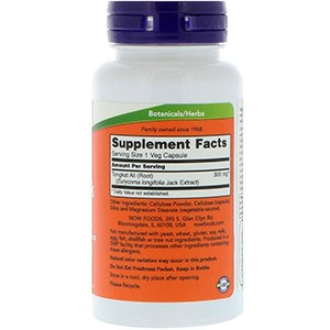 Now Foods, TestoJack 300, 300 мг
