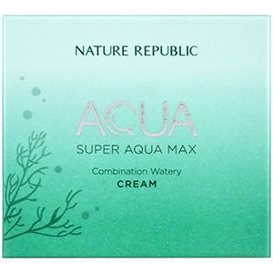Nature Republic, Аква, Супер Аква Макс, комбинированный водянистый крем