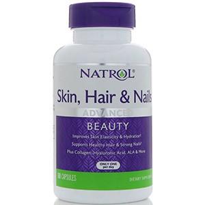 Natrol, Кожа, волосы и ногти, небывалая красота