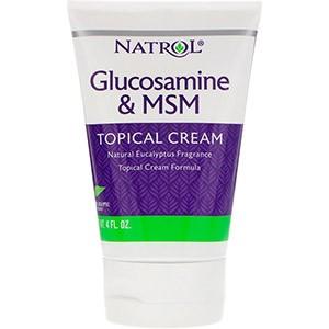 Natrol, Глюкозамин и МСМ, крем для местного применения