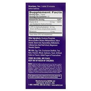 Natrol, Advanced Sleep Melatonin +5-HTP