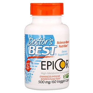 Doctor's Best, Epicor, 500 мг