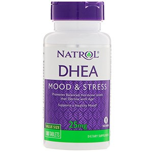 Natrol, DHEA, Mood & Stress, 25 mg