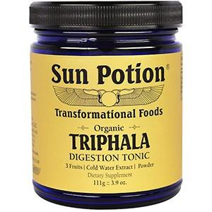 Sun Potion, Порошок Triphala, Органический Экстракт в Холодной Воде