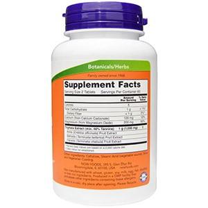 Now Foods, Трифала, 500 мг