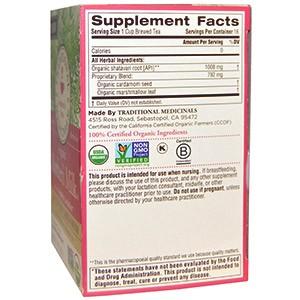Чай для лактации Organic Mother's Milk, Shatavari Cardamom, без кофеина